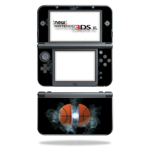MightySkins Protective Vinyl Skin Decal for New Nintendo 3DS XL (2015) Case wrap cover sticker skins Basketball Orb