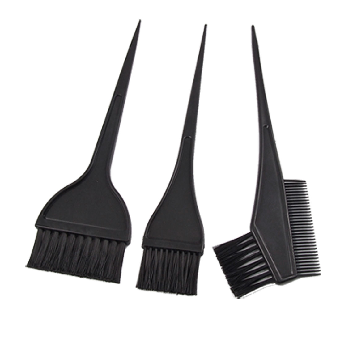 Hair Color Tint Dye Brush Salon Comb Set Tool New 3 in 1