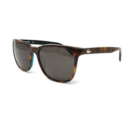 LACOSTE Sunglasses L833S 214 Havana Rectangular Unisex (214 Sunglasses)