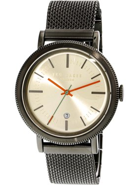 Ted Baker Men's Watch Connor Grey Stainless-Steel Japanese Quartz Fashion 10031510