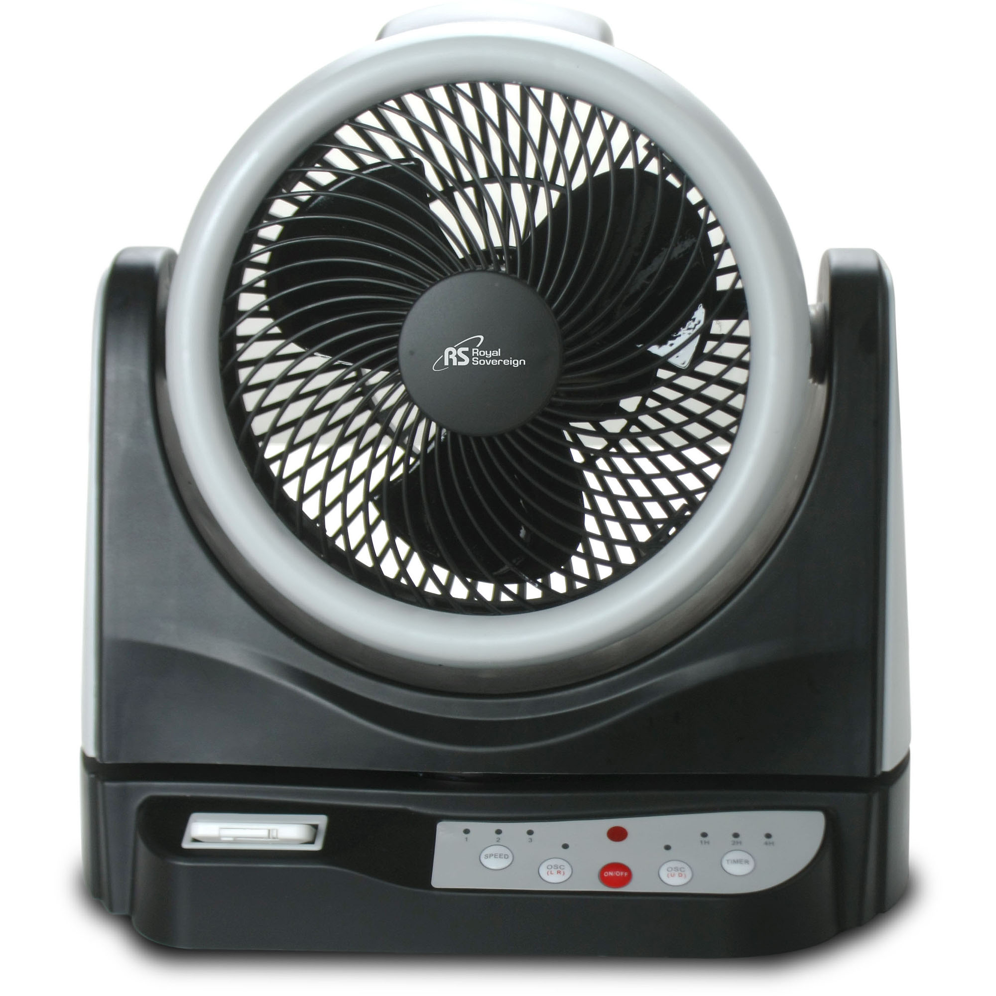 "Royal Sovereign 10"" Dual Oscillating Fan"