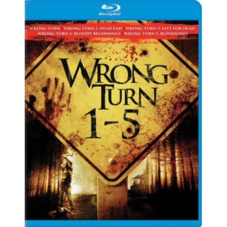 Wrong Turn 1-5 (Blu-ray)