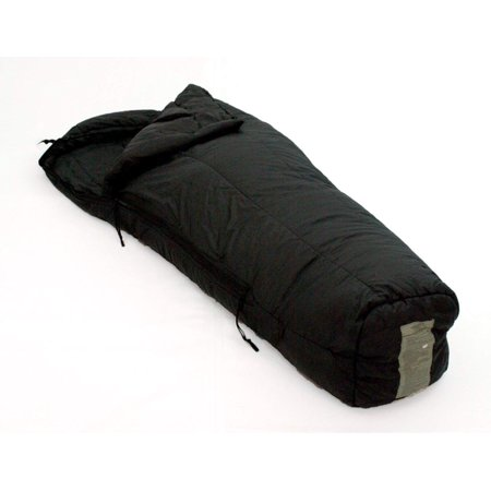 US Military Genuine Issue Intermediate Cold weather Sleeping Bag, Black,