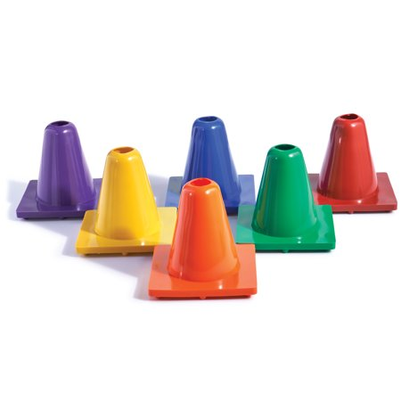 Colored Game Cones (US Games® Color My Class® 6