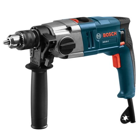 Factory-Reconditioned Bosch HD18-2-RT 8.5 Amp 1/2 in. Two-Speed Hammer Drill (Refurbished)