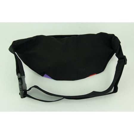 Black Rainbow Stripe Adjustable Fanny Pack - image 1 of 2
