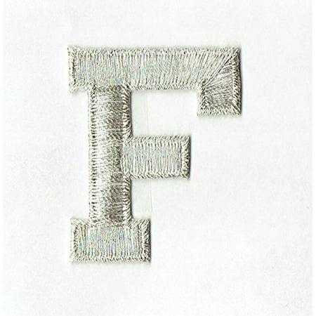 Alphabet Letter - F - Color Silver - 2