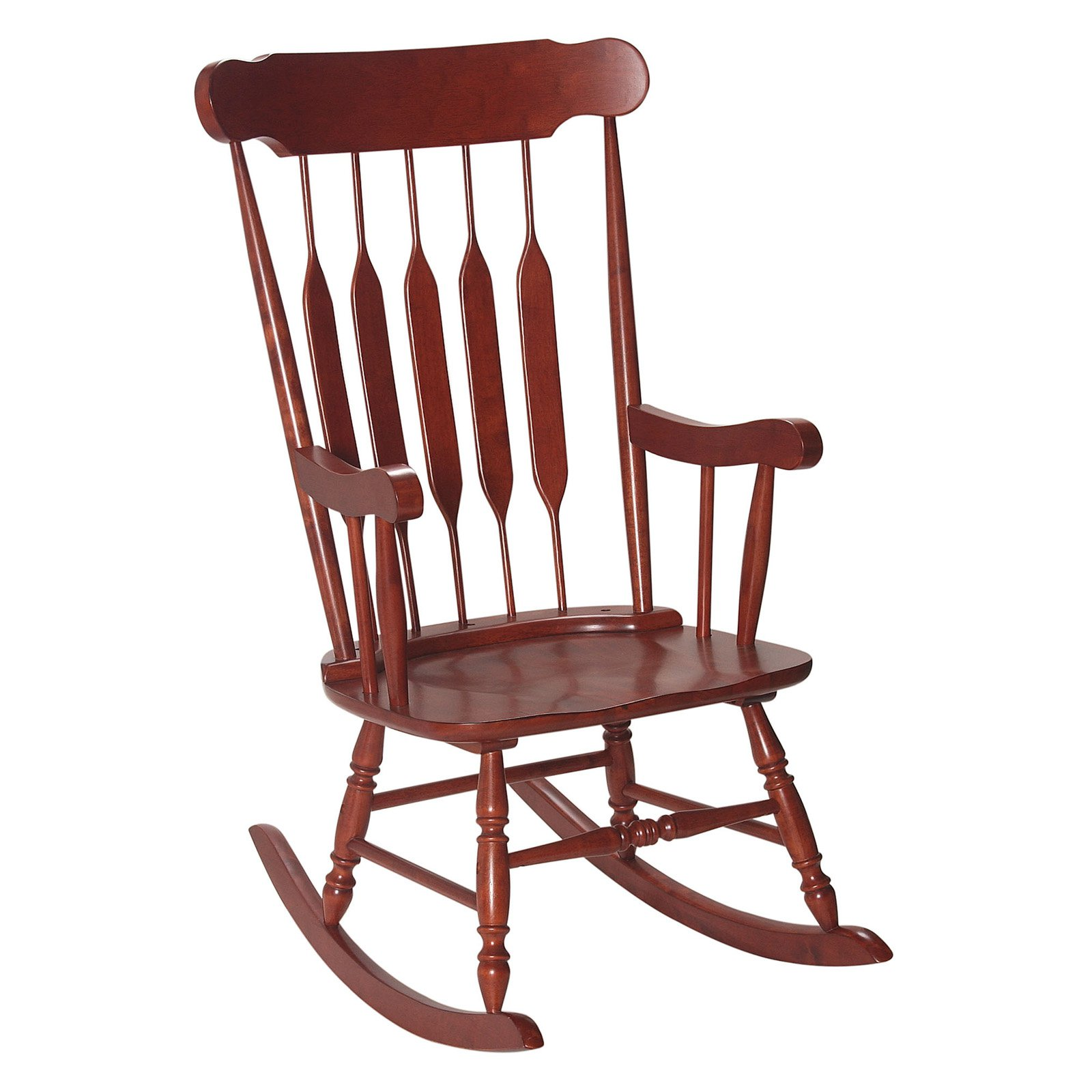 Adult Rocking Chair in Cherry Finish