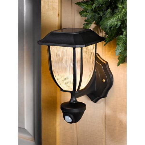 Westinghouse Hanover Solar Outdoor Pir Wall Lantern