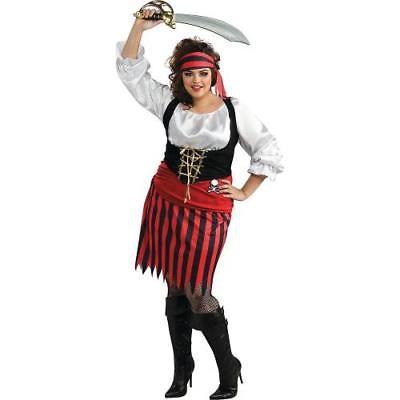 Women's Plus Size Pirate Costume - XXL
