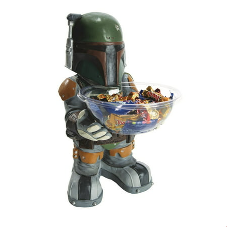 Star Wars Adult Boba Fett Candy Holder Halloween Costume Accessory - Halloween Candy Buckets