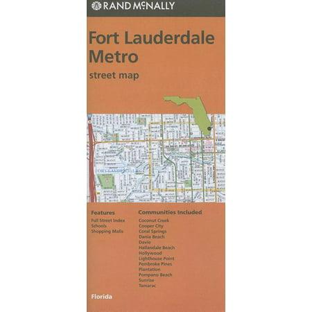 Rand mcnally fort lauderdale metro, florida street map: 9780528007996 Metro Transit Map