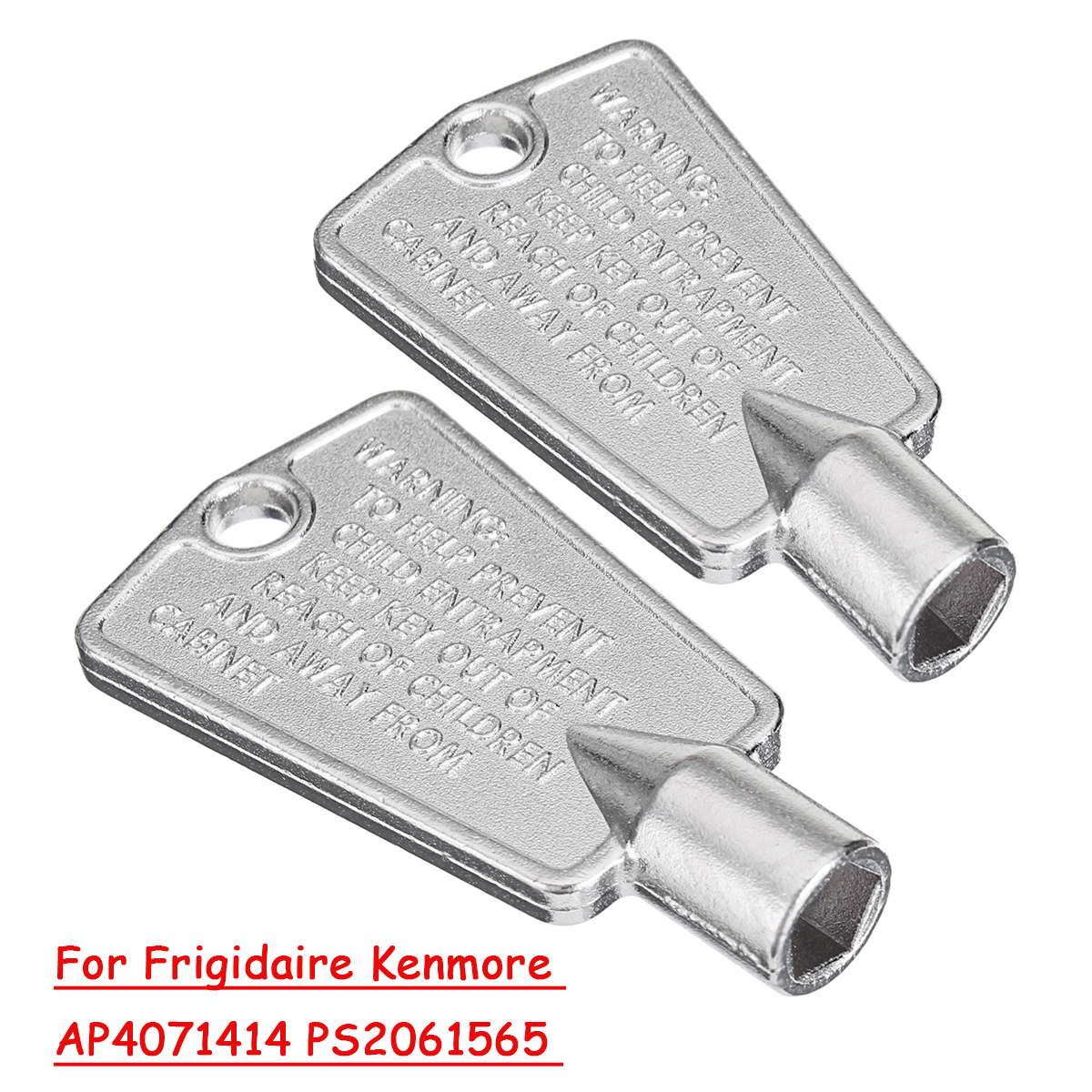 Freezer Door Key For Amana//Maytag//KitchenAid//Norge Refrigeration Equipment