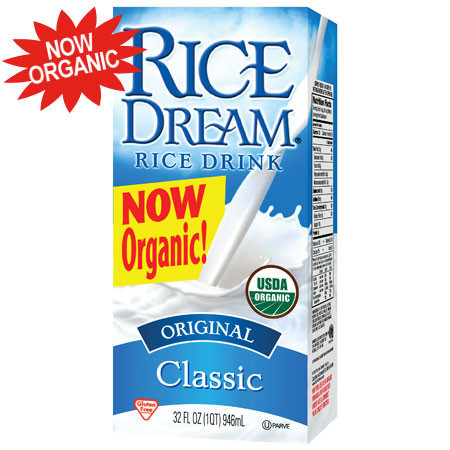 (4 Pack) RICE DREAM Classic Original Organic Rice Drink, 32 fl. oz.