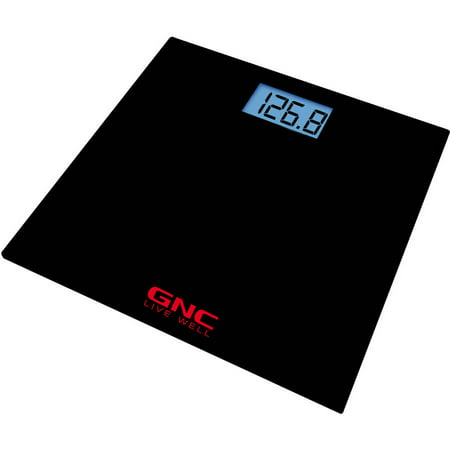 Gnc Bluetooth Digital Body Mass Scale  Black  Gs 7361