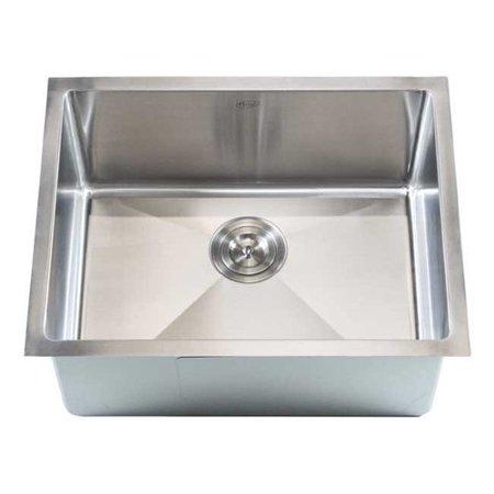 Emodern decor ariel 23 39 39 x 18 39 39 single bowl undermount for Emodern decor