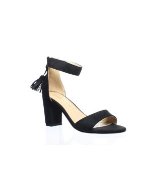 89c2803a6b2 Product Image Allegra K Womens Black Ankle Strap Heels Size 6.5