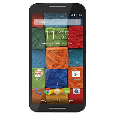 Motorola Moto X (2nd Generation) XT1096 Verizon Unlocked 4G LTE Quad-Core Android Phone w/ 13MP Camera - Black