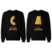 Youre the Cheese to My Macaroni BFF Matching SweatShirts for Best Friend