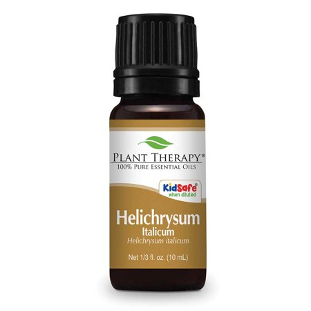 Plant Therapy Helichrysum Italicum Essential Oil 10 mL (1/3 fl. oz.) 100% Pure, Undiluted, Therapeutic Grade