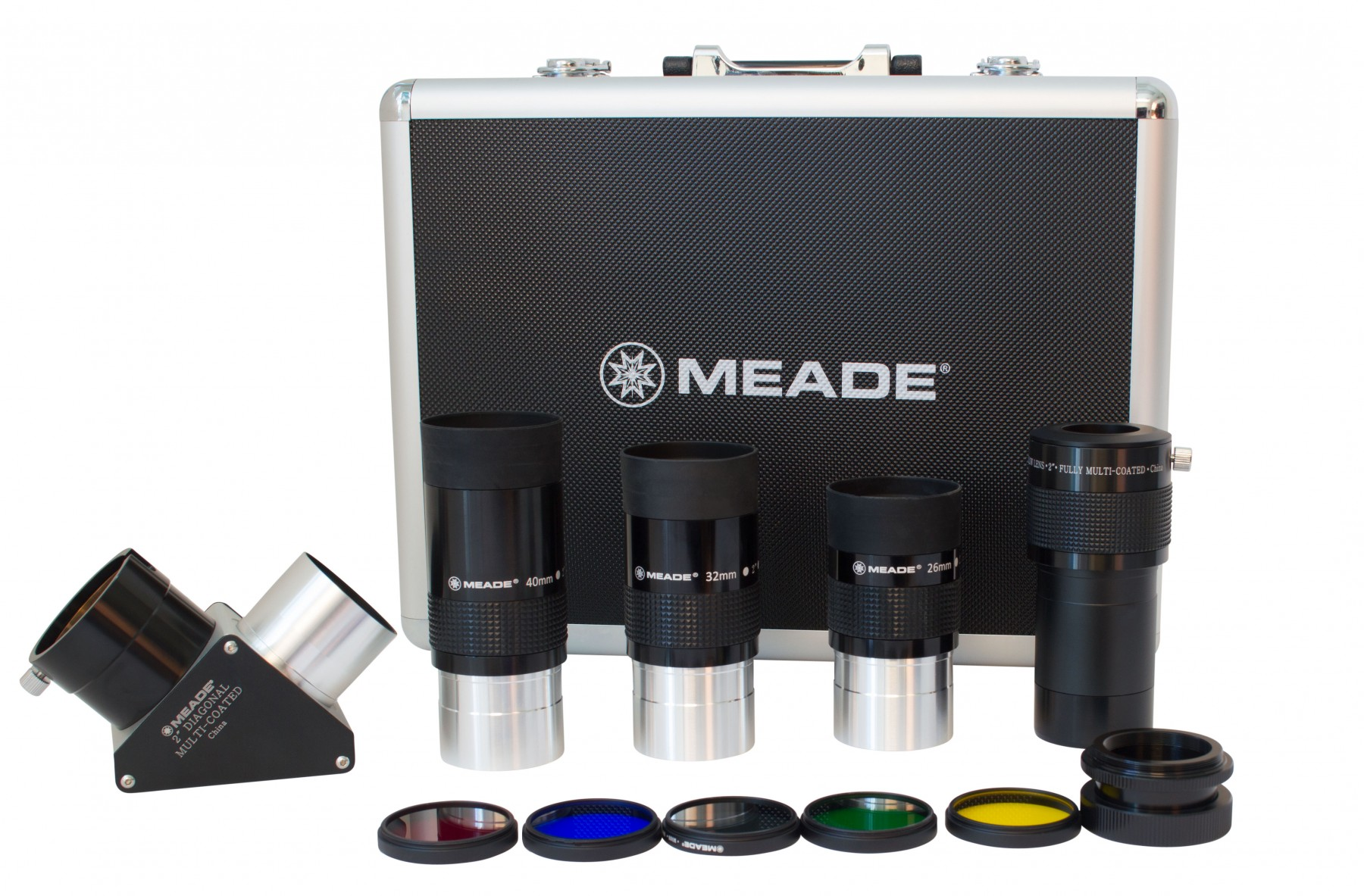 Meade Instruments Series 4000 2-Inch Eyepiece and Filter Set by Meade Instruments