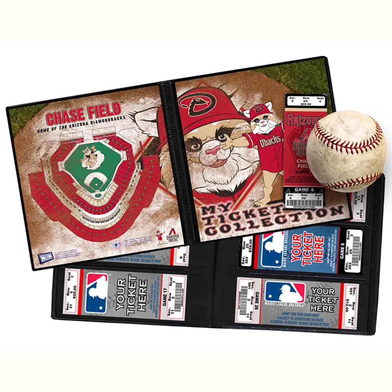 Ticket Album MLB - Arizona Diamondbacks Mascot (Ho