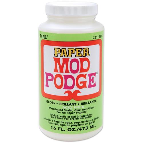 Mod Podge Paper Gloss Finish-16 Ounces