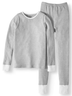 Fruit Of The Loom Girls Soft Waffle Thermal Underwear Set (Little Girls & Big Girls)