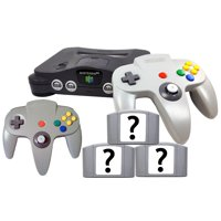 Refurbished Nintendo 64 N64 Console 3x Free Games Bonus Controller All Cables