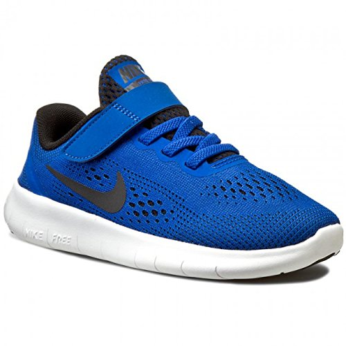 Nike Free RN PSV Game Royal Kids Running Shoes Size 2Y