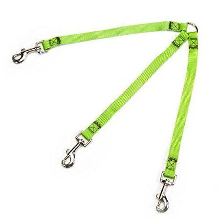 Guardian Gear Nylon 2-Way SMALL Dog Coupler WITH NICKEL PLATED SWIVEL CLIP 4