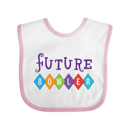 Bowling Outfit Future Bowler Baby Bib