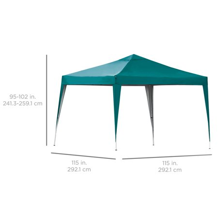 Best Choice Products 10x10ft Pop Up Canopy Green