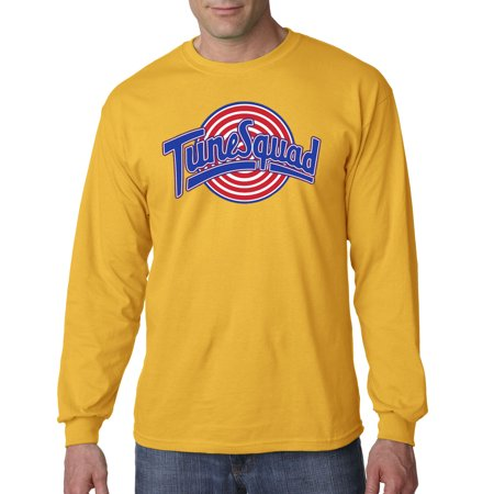 487 - Unisex Long-Sleeve T-Shirt Tune Squad Space Jam Basketball Team (Space Jam Outfit)