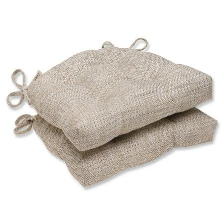 Pillow Perfect Tweak Mica Reversible Chair Pad - Set of 2