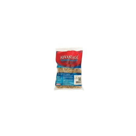 Assorted Rubber Bands (Alliance Advantage Latex Rubber Band, No 54, Assorted Size, 1/4 lb Bag, Natural)