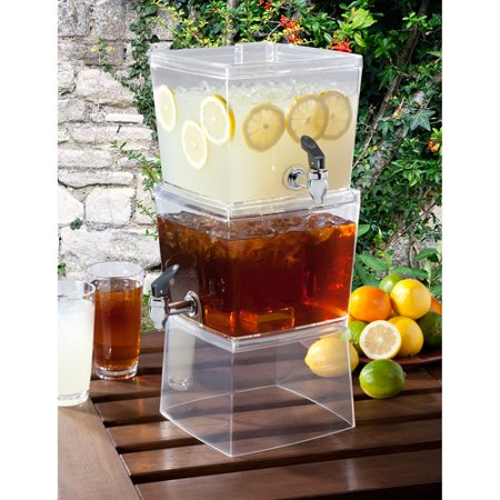 Creative Bath Stackable Beverage Dispenser. Creative Bath Stackable Beverage Dispenser   Walmart com