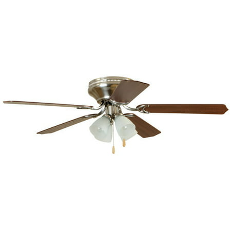Chapter 52 4 light satin nickel ceiling fan walmart chapter 52 4 light satin nickel ceiling fan aloadofball Images