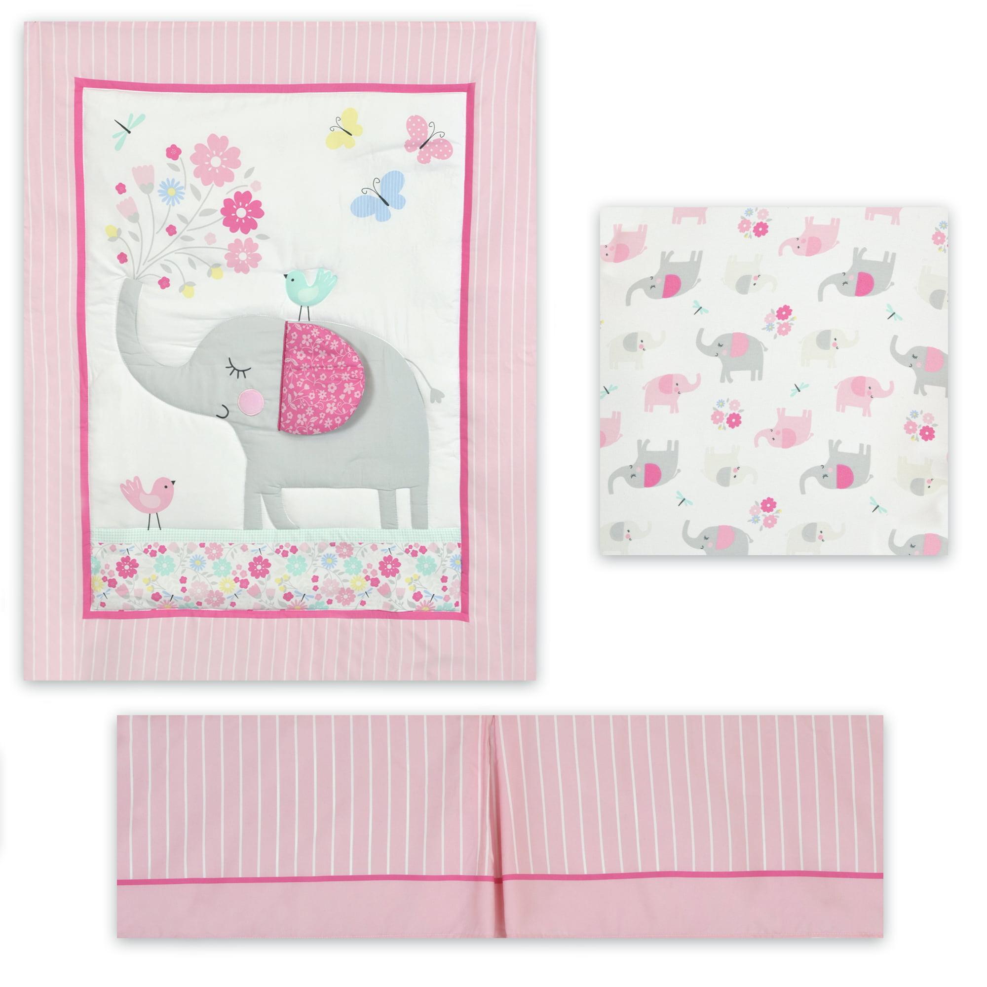 Parent's Choice Nursery Set, 3 Piece Set, Elephant