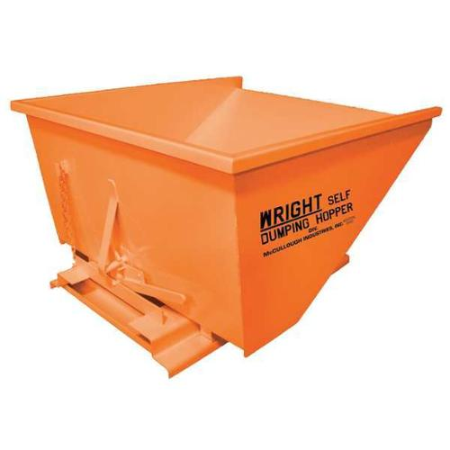 Self Dumping Hopper,6000 lb.,Orange G0453428