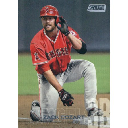 2018 Topps Stadium Club #203 Zack Cozart Los Angeles Angels Baseball Card - *GOTBASEBALLCARDS](Halloween Events Club Los Angeles)
