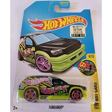 Hot Wheels 2017 Collector Edition Factory Sealed Set Exclusive Hw Art Cars - Fandango (Regular Treasure (Value Of Hot Wheels Treasure Hunt Cars)