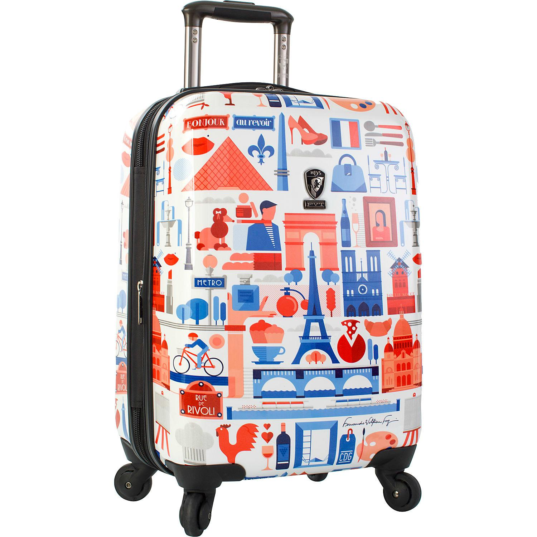 "Heys America Paris 21"" Carry-On Spinner Luggage"