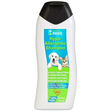 Hypoallergéniques pour chiens et chats Shampooing - All Natural Aloe Vera, Camomille et Rosemary Sensibles et jeune peau - 12 oz