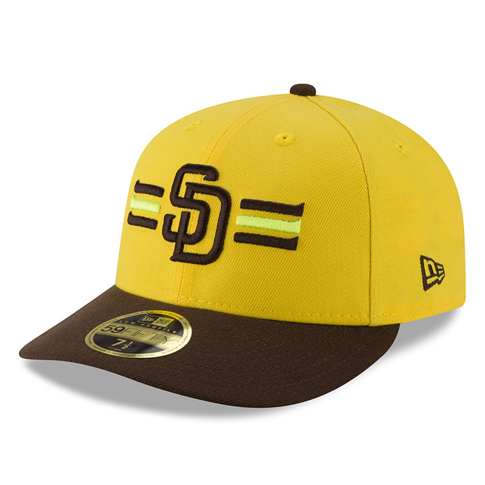 San Diego Padres New Era 2018 Players' Weekend Low Profile 59FIFTY Fitted Hat - Yellow/Brown