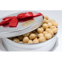 Salted Delicious Salted Whole Macadamias Gift Tin