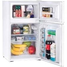 Westinghouse Commercial Cool 3.2 cu ft 2 Door Refrigerator with Freezer, White