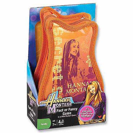 Hannah Montana Card Game in Guitar-Shaped Portfolio