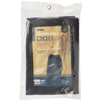 Stansport Canvas Laundry Bag - Black - 18 In X 27 In