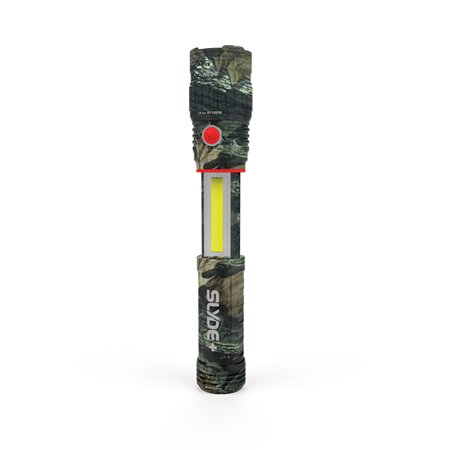 Nebo Slyde+ Camo Flashlight & Work Light 200-300 Lumen COB LED Technology 6618